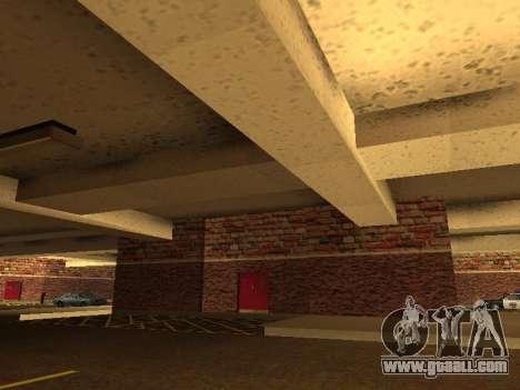 New interior police HP garage for GTA San Andreas third screenshot