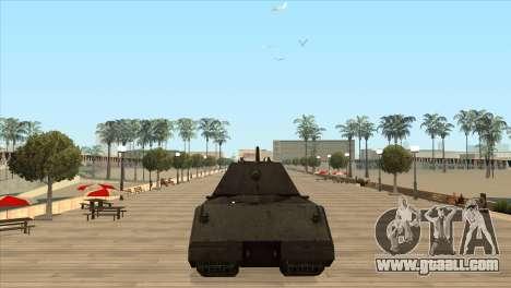 Panzerkampfwagen VIII Maus for GTA San Andreas third screenshot
