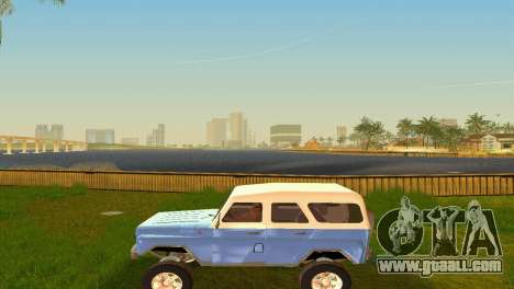 UAZ 3151 for GTA Vice City inner view