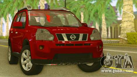 Nissan X-Trail 2009 for GTA San Andreas back view
