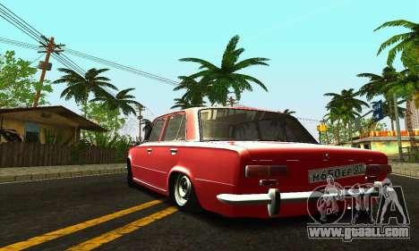 VAZ 2101 BPAN for GTA San Andreas upper view