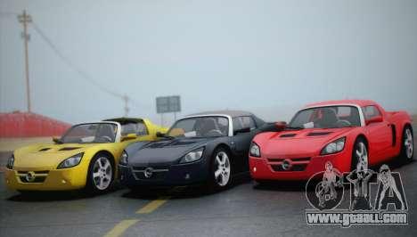 Opel Speedster Turbo 2004 for GTA San Andreas