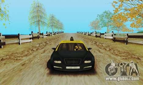 Mercenaries 2 Taxi for GTA San Andreas back left view