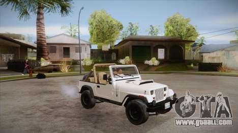 Jeep Wrangler V10 TT Black Revel for GTA San Andreas side view