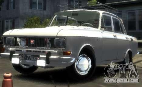 AZLK 2140 1976 for GTA 4