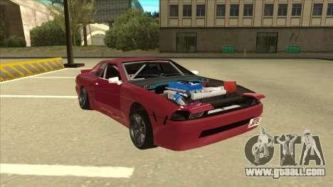 Elegy Drift for GTA San Andreas left view