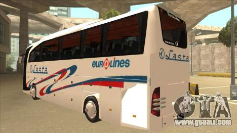 Mercedes-Benz Lasta Bus for GTA San Andreas back view