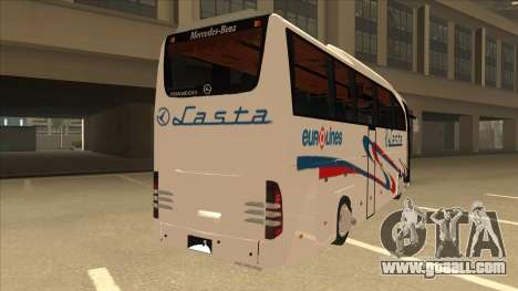 Mercedes-Benz Lasta Bus for GTA San Andreas right view