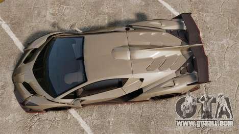 Lamborghini Veneno for GTA 4 right view