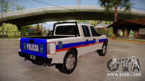 Ford Ranger 2011 Province of Buenos Aires Police for GTA San Andreas right view