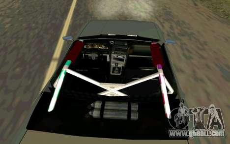 Elegy Cabrio for GTA San Andreas back left view