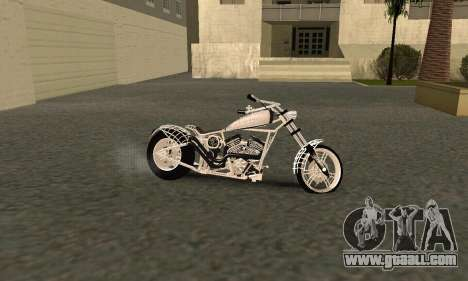Black Widow for GTA San Andreas