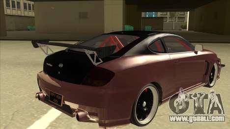 Hyundai Tiburon Coupe Tuning for GTA San Andreas right view