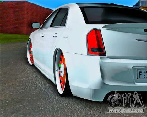 Chrysler 300 c SRT-8 MANSORY_CLUB for GTA San Andreas back view