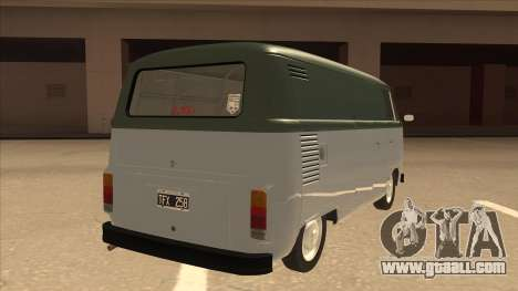 VW T2 Van for GTA San Andreas right view