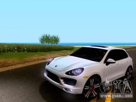 Porsche Cayenne Turbo S 2013 V1.0 for GTA San Andreas left view