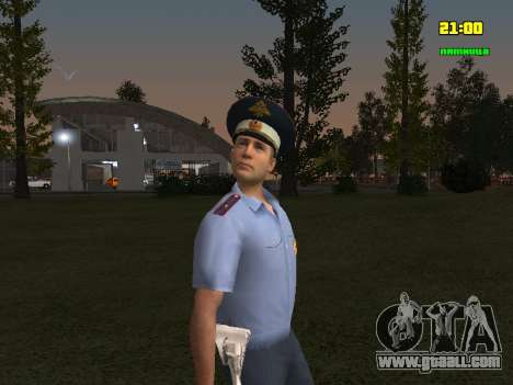 DPS Officer for GTA San Andreas second screenshot