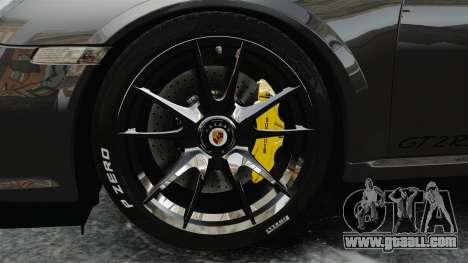 Porsche 997 GT2 2012 Simple version for GTA 4 back view