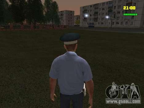 DPS Officer for GTA San Andreas third screenshot