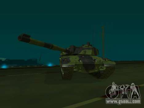 Challenger 2 for GTA San Andreas side view