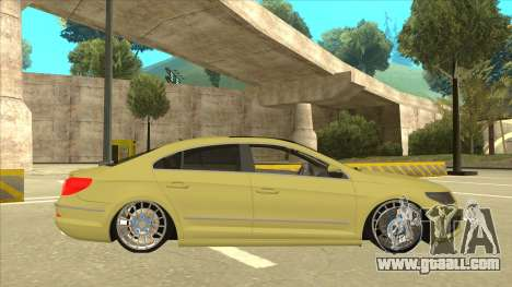 VW Passat CC for GTA San Andreas back left view