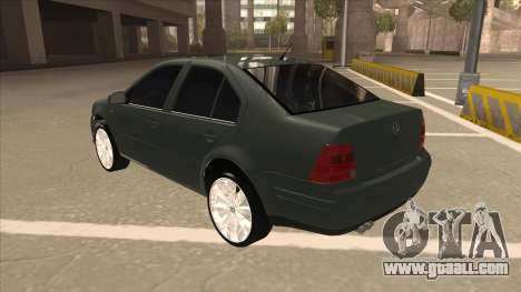 Jetta 2003 Version Normal for GTA San Andreas back view