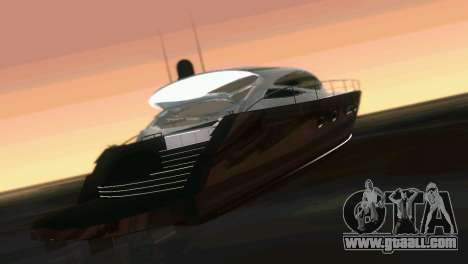 Cartagena Delight Luxury Yacht for GTA Vice City inner view