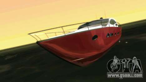 Cartagena Delight Luxury Yacht for GTA Vice City left view