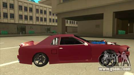 Elegy Drift for GTA San Andreas back left view