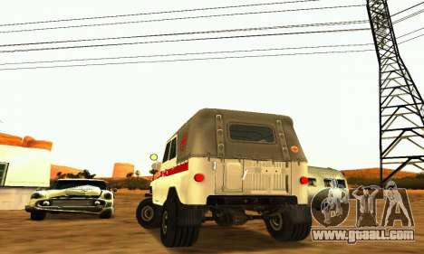 UAZ 469 Ambulance for GTA San Andreas right view
