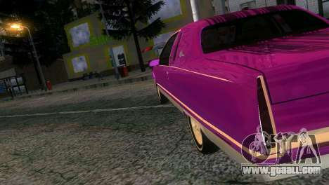 Cadillac Fleetwood Coupe for GTA Vice City left view