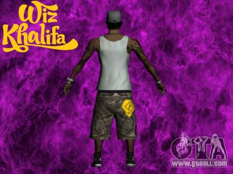 Wiz Khalifa for GTA San Andreas second screenshot