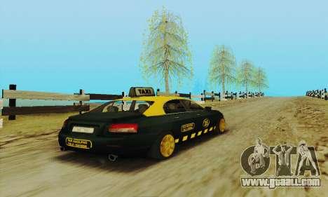 Mercenaries 2 Taxi for GTA San Andreas inner view
