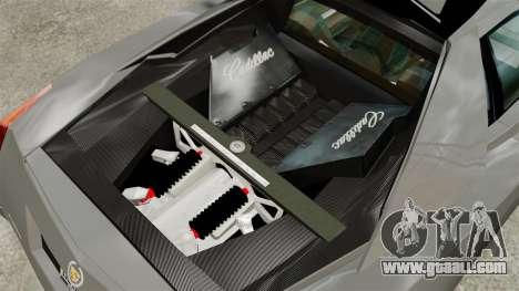 Cadillac Cien XV12 [EPM] for GTA 4 back view