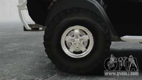 GAZ 2402-4 x 4 pickup truck for GTA 4 back view
