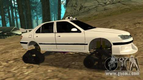 Peugeot 406 Grizzli for GTA San Andreas back view