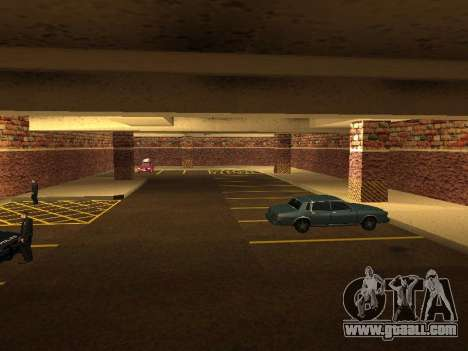 New interior police HP garage for GTA San Andreas fifth screenshot