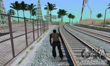 Roller-skates for GTA San Andreas second screenshot