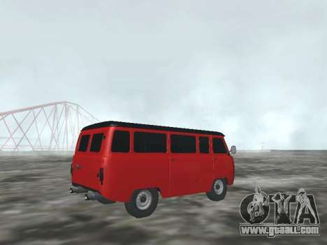 UAZ 22069 for GTA San Andreas right view