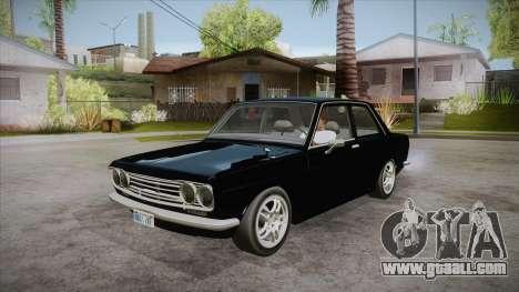 Datsun 510 RB26DETT Black Revel for GTA San Andreas