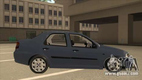 Fiat Siena Ex for GTA San Andreas back left view