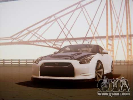 Nissan GT-R R35 Spec V 2010 for GTA San Andreas
