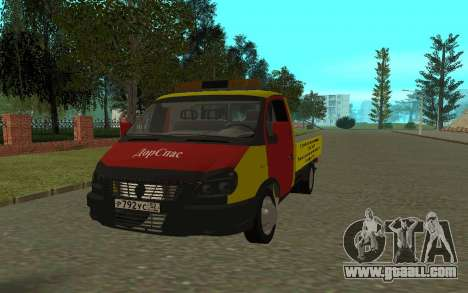 3302 Gazelle tow truck Business for GTA San Andreas
