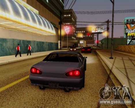 ENBSeries for powerful PC for GTA San Andreas third screenshot