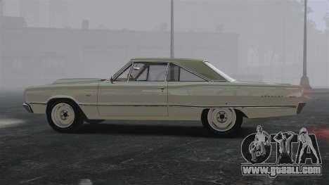 Dodge Coronet 440 1967 for GTA 4 left view