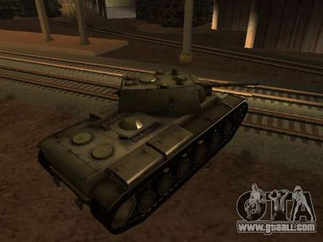 KV-1 for GTA San Andreas left view