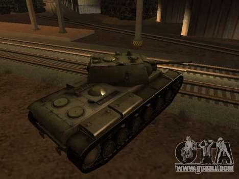 KV-1 for GTA San Andreas left view