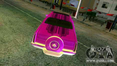 Cadillac Fleetwood Coupe for GTA Vice City upper view