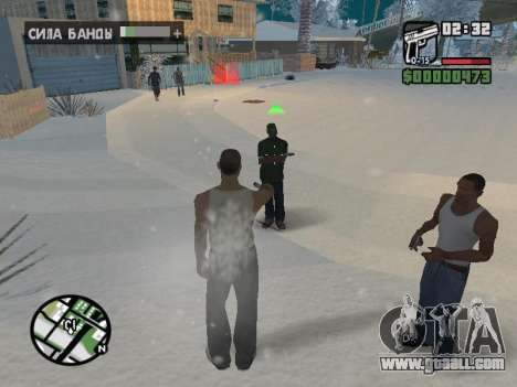Switching between characters as in GTA V for GTA San Andreas eighth screenshot