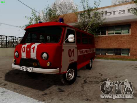 UAZ 452 Fire Staff Penza Russia for GTA San Andreas